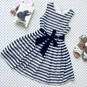Girls size 8 ORIGAMI (Myer) Party Dress, stripe